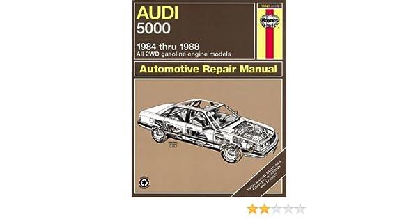 Audi 5000 1984 Thru 1988 All 2wd Gasoline Engine Models Automotive Rhamazon: 1988 Audi 5000 Wiring Diagram At Gmaili.net