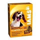 Iams Proactive Health Puppy Biscuits, 2.6-Pound Boxes (Pack of 6), My Pet Supplies