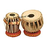 Queen Brass Tabla Set, Professional, Economy Bag