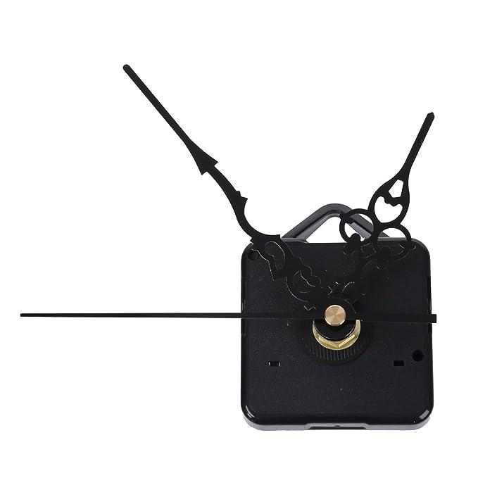 TOOGOO (R) Mecanismo Maquinaria de Reloj Cuarzo Horario Minutero Segudero Negro: Amazon.es: Hogar
