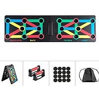 Surplex 12 In 1 Body Building Push Up Rack Board, Opvouwbare Body Building Stands Board, Kleurgecodeerde Power-Press…