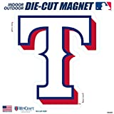 "Stockdale Texas Rangers SD 12"" Logo MAGNET Die Cut Vinyl Auto Home Heavy Duty Baseball"
