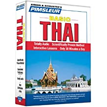 Pimsleur Thai Basic Course - Level 1 Lessons 1-10 CD: Learn to Speak and Understand Thai with Pimsleur Language Programs