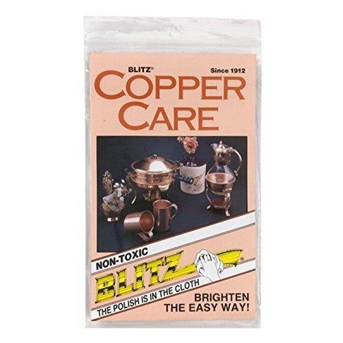 Blitz 21028 Copper Care Cloth-Single-Ply, Treated, 2 Pack Blitz Inc