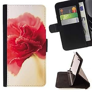 Momo Phone Case / Flip Funda de Cuero Case Cover - Rosa - Samsung Galaxy S4 Mini i9190