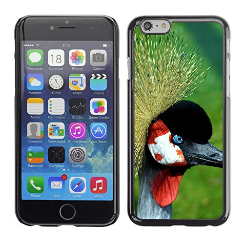 Premio Sottile Slim Cassa Custodia Case Cover Shell // V00003179 grue couronnée // Apple iPhone 6 6S 6G 4.7""