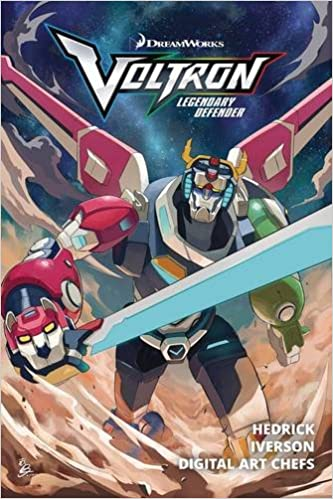 Voltron: Legendary Defender TP Vol  1: Amazon co uk: Tim Hedrick