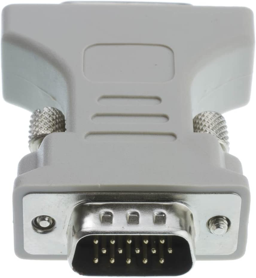 DVI-A Female to HD15 Male DVI-A to VGA Analog Video Adapter 20 Pack GOWOS