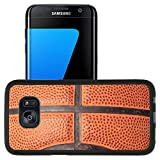 Luxlady Premium Samsung Galaxy S7 Edge Aluminum Backplate Bumper Snap Case IMAGE ID 2114666 close up photo of a basketball that can be as a background design element