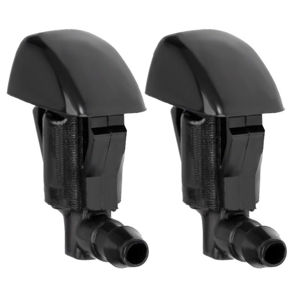 Set of 2 WayJun 55079049AA Windshield Water Jet Washer Nozzle Double Hole