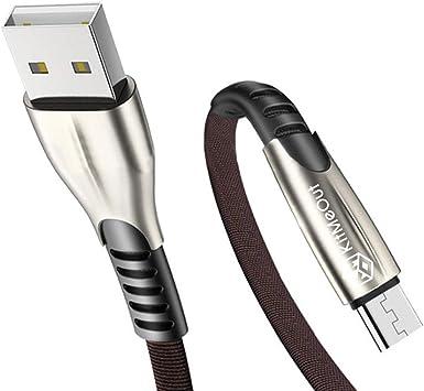 1M+2M+3M 3 Pack] Cable De Carga Rápida Micro USB para Alcatel 3 /
