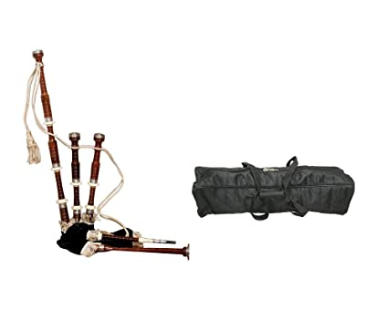 ad5839acbc41 Amazon.com  Bagpipes Package Includes  Full Size Roosebeck Bagpipe ...