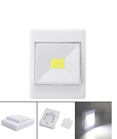 Battery Powered Wireless COB LED Closet Night Light Lamp Switch With  Magnetic By Superjune