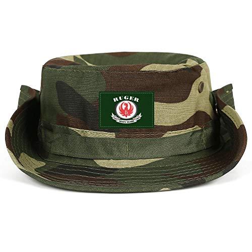 See world Sturm-Ruger-Logo- Men's Hiking Hat Bucket Cap