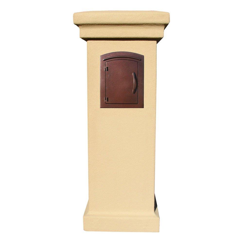 Amazon.com: Qualarc MAN-1400-AC Manchester Column Mount Cast ...