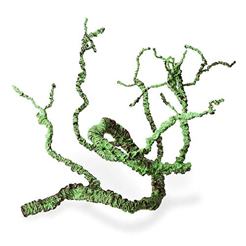 Jungle Vines Flexible Pet Habitat Decor for Lizards, Frogs, Snakes and Other - Tree Snake Green