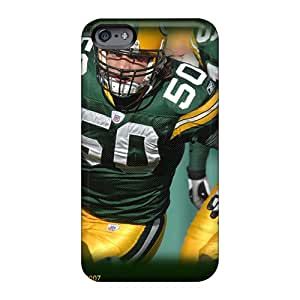 WandaDicks Apple Iphone 6 Plus Shock Absorption Hard Cell-phone Cases Unique Design Realistic Green Bay Packers Pictures [ayQ17838SmPq]