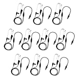 10 Pack BOMMEOW BCT22-K3 2-Wire Clear Coil Surveillance Kit for Kenwood NEXEDGE NX-200 NX-300 NX-410 NX-411 NX-420