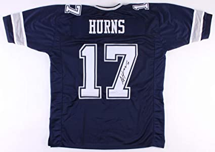 best service ebeed ffe3f Allen Hurns #17 Signed Dallas Cowboys Jersey (JSA COA) JSA ...