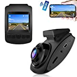 Dash Cam, CHORTAU Dash Cam WiFi Sony Sensor Full HD 1080P, Dashboard Camera for Car 2 Inch Screen 170° Wide Angle, Car Camera with Loop Recording, Parking Monitor, Motion Detection