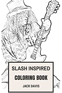 Guns and Roses Coloring Book: Legendary American Rock and Roll Axl ...