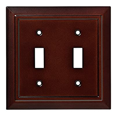 Franklin Brass Classic Architecture Double Switch Wall Plate/Switch Plate/Cover