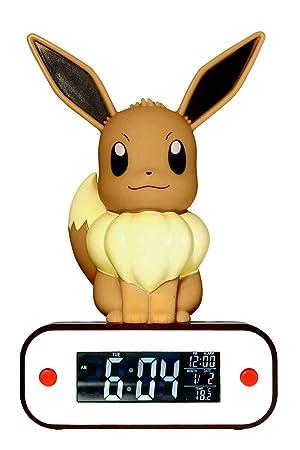Lampe 3d811370Marron Evoli Teknofun Réveil Pokémon rdBxoeCW