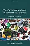 Cambridge Yearbook of European Legal Studies 2007-2008, , 1841138371