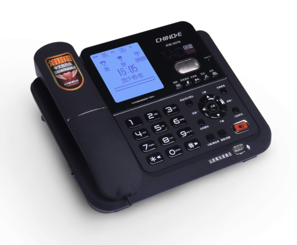 CHINOE G076 Auto answering Telephone Model, Caller ID Display, Recorder Telephone