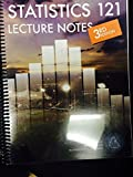 img - for Statistics 121 Lecture Notes Third Edition book / textbook / text book