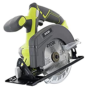 Ryobi P883 One+ 18V Lithium Ion Cordless Contractor's Kit (8 Pieces: 1 x P704 Worklight, 1 x P515 Reciprocating Saw, 1 x Circular Saw, 1 x P271 Drill/Driver, 2 x Batteries, 1 x Charger, 1 x Bag)