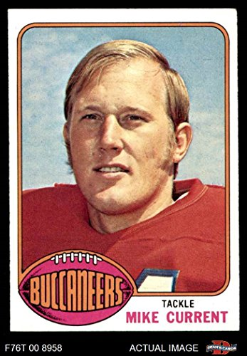 1976 Topps # 97 Mike Current Tampa Bay Buccaneers (Football Card) Dean's Cards 5 - EX (1976 Tampa Bay Buccaneers)