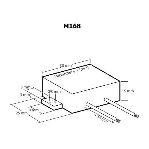 Kemo M168 Überspannungsschutz 12 V Dc Unterdrückt Spannungsspitzen Im Kfz Bordnetz Verhindert Beschädigung An Empfindlicher Bordelektronik Gewerbe Industrie Wissenschaft