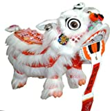 Red Chinese Lion Dragon Marionette Puppet