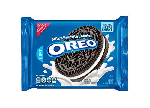 OREO Chocolate Sandwich Cookies, Original Flavor, 12 Resealable 14.3 oz - Sandwich Oreo