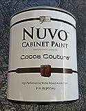 Best Cabinet Paints - Nuvo Cabinet Paint (Cocoa Couture) Quart Review
