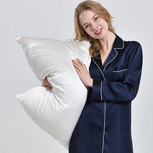 OOSilk 100% Mulberry Silk Pillowcase For Hair Standard