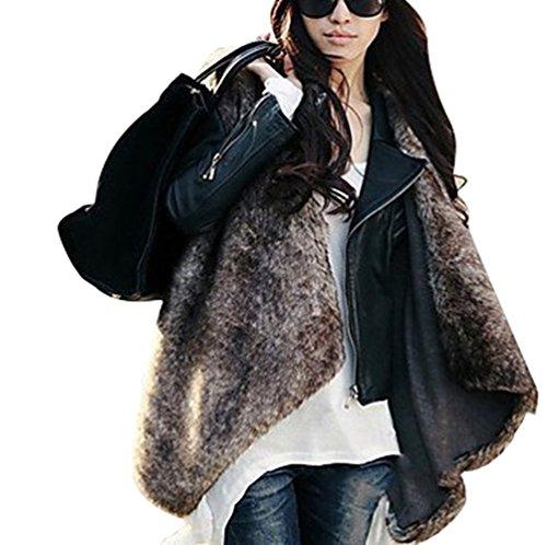 Veste Gilet Comme Femmes Gilet YiLianDa Fur Vest Long Slim Faux Image vtement z6xn8OFwv