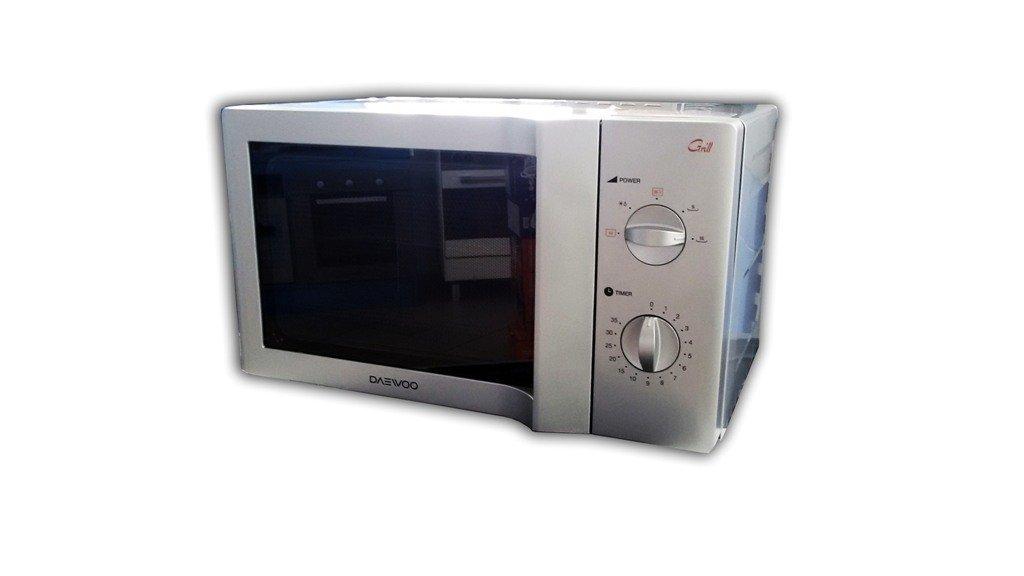 Microondas Daewoo kog6l65s inferior 1200 W Silver 20 lt: Amazon.es ...