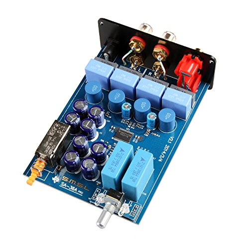 Smsl Sa 36a Pro Tpa Ta Amp Hifi Big Power Digital Integrated Tripath Stereo Amplifier With 12v 3.8a Power Adaptor Silver
