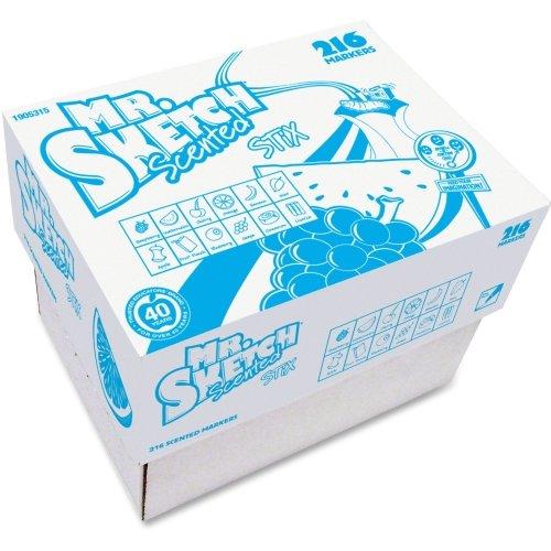 Mr Sketch Scented Stix Marker (SAN1905315 - Mr. Sketch Stix Classpack Scented Markers)