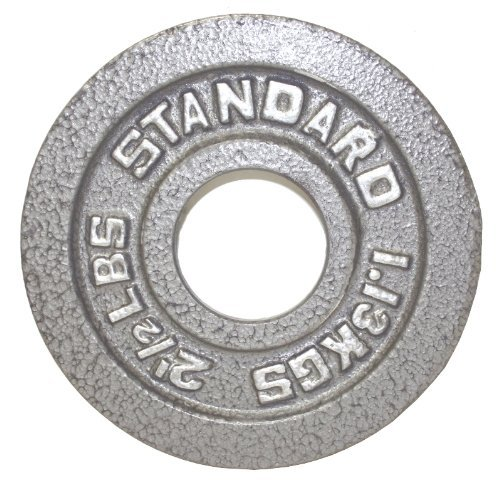 USA Sports Troy Barbell Gray Olympic Weight Plate (2.5-Pound)