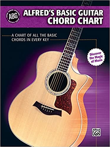 Alfreds Basic Guitar Chord Chart A Chart Of All The Basic Chords