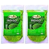 100% Natural Organically Indigo Powder (INDIGOFERA TINCTORIA) (PACK OF 2) (200 Grms)