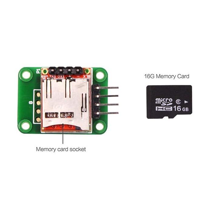 WT901SD tarjeta SD 16G incorporado Sensor IMU AHRS de 9 ejes ...