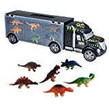 ToyVelt Transport Carrier Megatoybrand Car Truck Inside-Best Dinosaur Kids Toy for Ages 3-8 Yr Old