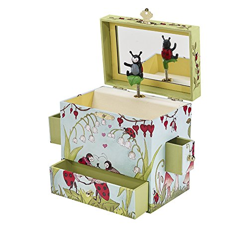 Enchantmints Ladybug Musical Treasure Box