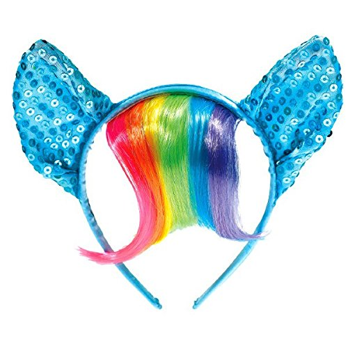 Rainbow Dash Party Supplies (American Greetings My Little Pony Party Supplies, Deluxe Rainbow Headband)