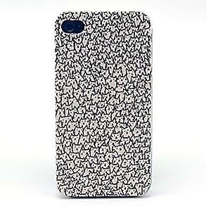 vormor® una gran cantidad de gatos patrón duro caso para iPhone 5/5s