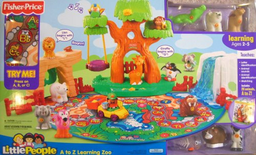 Learning Zoo (Fisher Price Little People A to Z Learning Zoo Playset)
